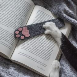 Cat paw bookmark